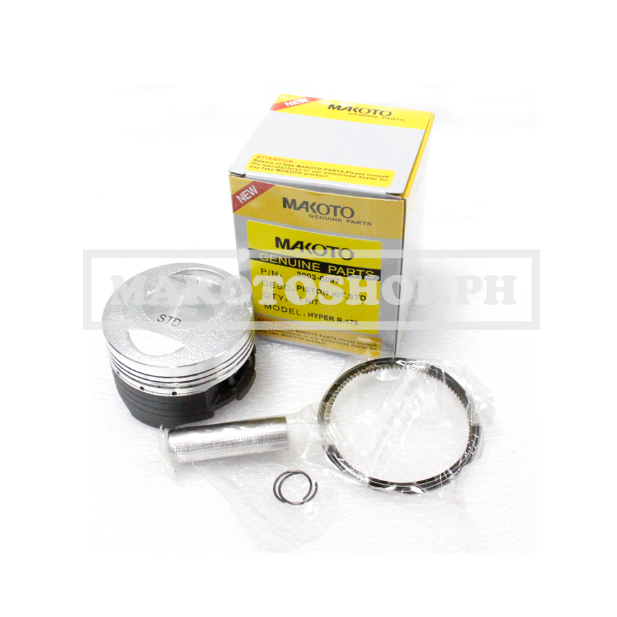 PISTON KIT, STD (MK) (HYPERBRUSCO 175)