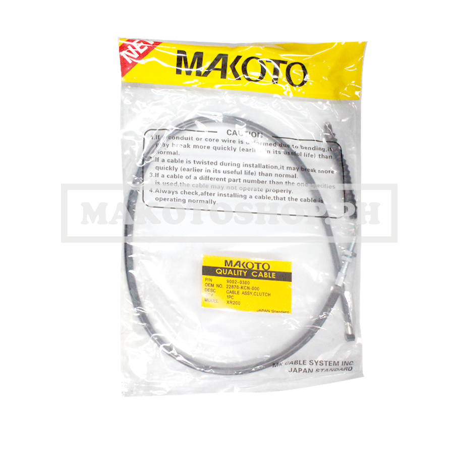 CABLE ASSY, CLUTCH (MK) (XR200)